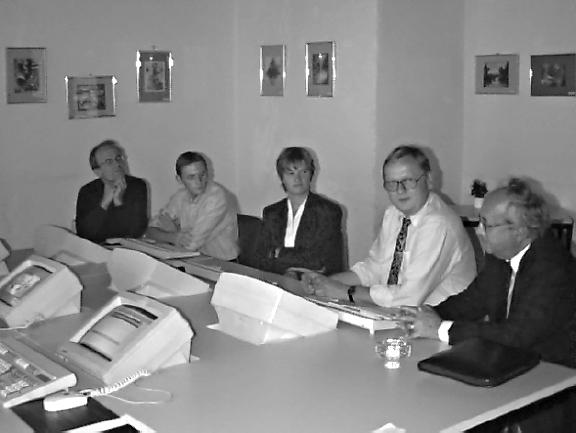 PQS-Team-Room (productivity, quality, speed) at Kepler University Linz. ,Austria, IFSR Newsletter 1996 Vol 15 no 4 December