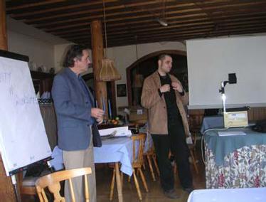 Gottfried Stockinger, Christian Fuchs, Fuschl Conversation 2004, IFSR Newsletter 2004 Vol. 22 No. 1 October