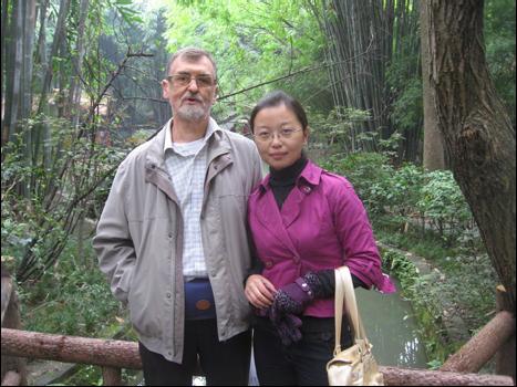 At Panda Breeding Station