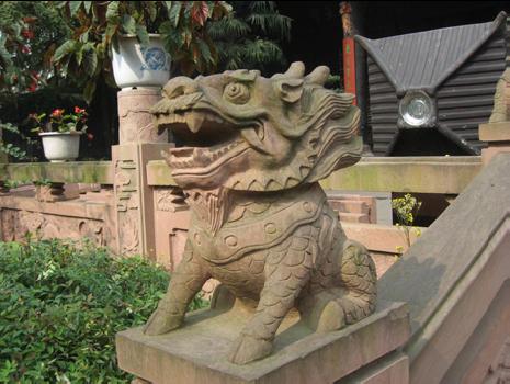Chengdu, historical shopping area