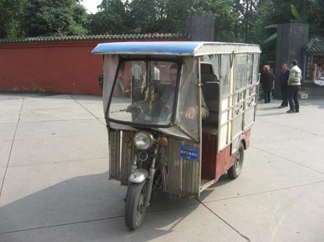 Taxi in Chengdu
