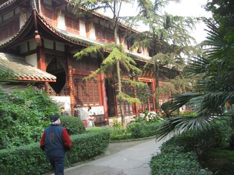 Chengdu, temple complex
