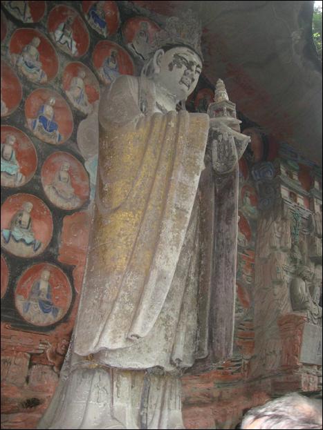 Dazu, stone carvings