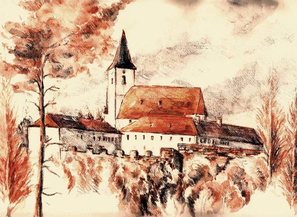Kloster Pernegg, Location of the 2010 Fuschl/Pernegg Conversation, Janie Chroust, IFSR Newsletter 2010 Vol 17 No 1 June