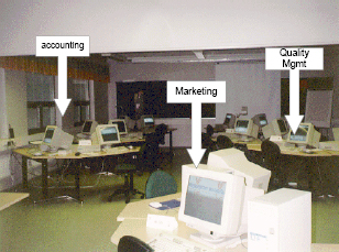 The Virtual Factory: simulating a real enterprise, IFSR Newsletter 1997 Vol 16 No 3 November