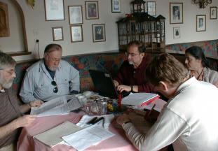 IFSR Fuschl Conversation 2004: Doug Walton, Alan Combs, Len Troncale, Magdalene Kalaidjieva, Soeren Brier