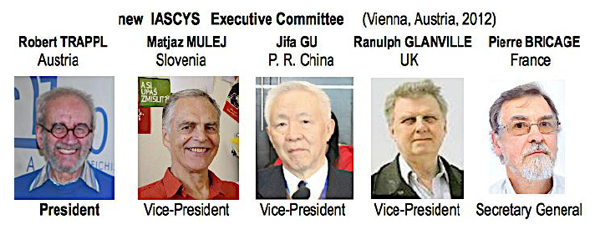 New IASCYS Executive Committee (Vienna, Austria, 2012), IFSR Newsletter 2012 Vol. 29 No. 1 September