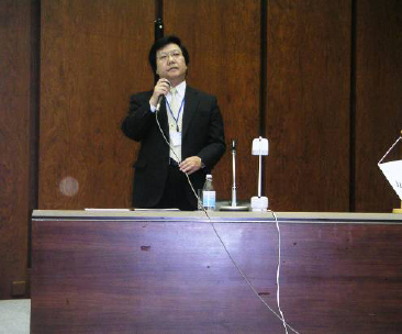 Prof. Y. Nakamori opening the Congress, IFSR 2005 Congress, IFSR Newsletter 2005 Vol. 23 No. 1 December