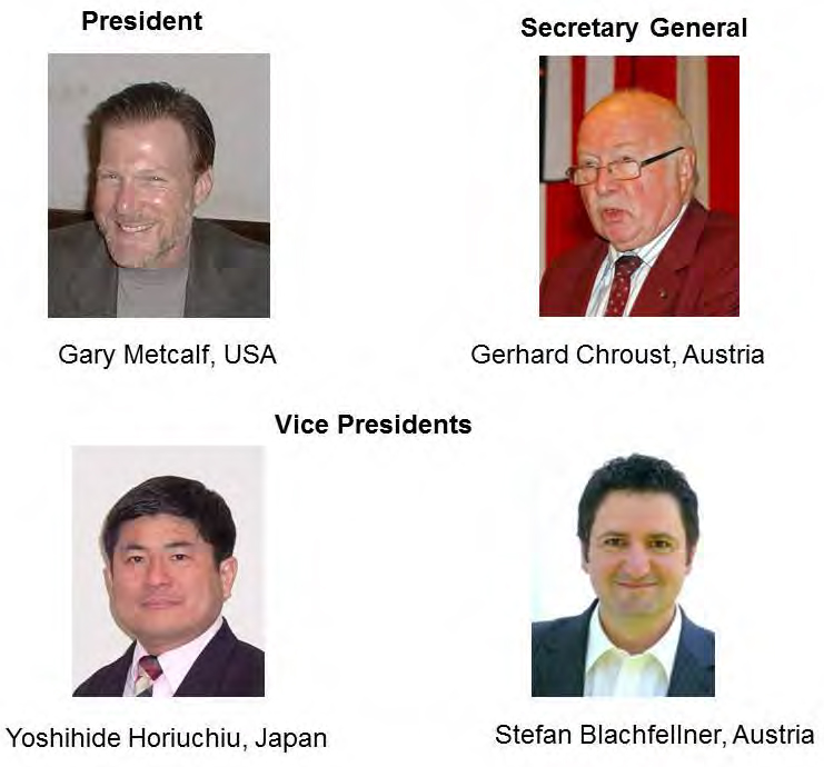 Officers of the IFSR 2012-2014: Gary Metcalf, Gerhard Chroust, Yoshihide Horiuchi, Stefan Blanchfellner. IFSR Conversations 2012