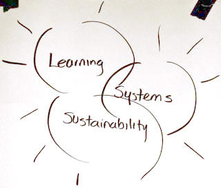 Figure 1: Learning, Systems, Sustainability, Team 3: Learning Systems for Sustainability, Proceedings of the IFSR Conversations 2010, Pernegg, Austria