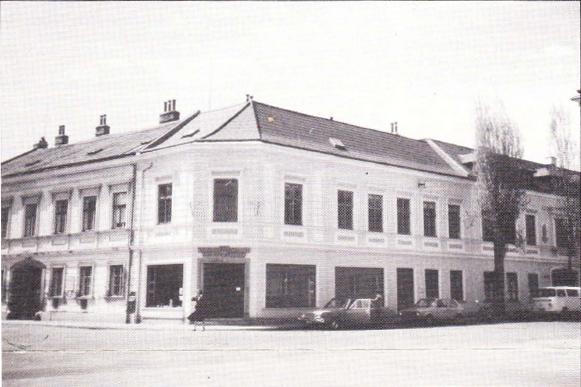 IFSR Headquarters in Laxenburg, Austria, 1982, IFSR Newsletter 1982 Vol 2 No. 2 Summer