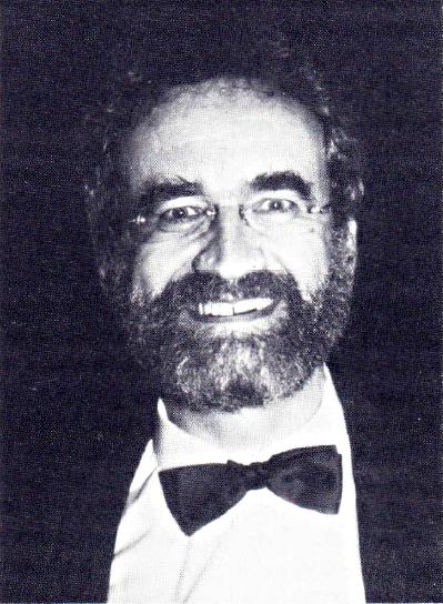 President Professor Robert Trappl, Foto by Stephen Sokoloff, IFSR Newsletter 1990 No. 1 (25)