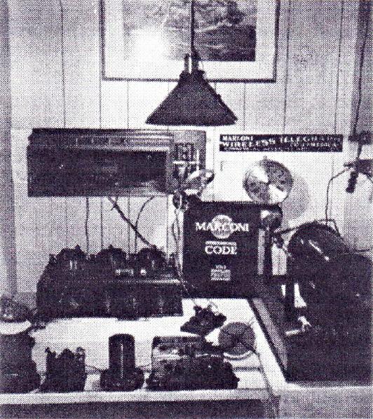Marconi Wireless Telegraphy Station, Foto by Franz Pichler, IFSR Newsletter 1995 Vol 14 no 4 (39) December