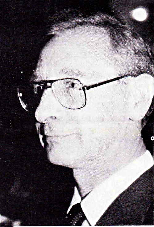 Professor Peter Checkland, foto by Dr. Stephen Sokoloff, IFSR Newsletter 1987 No. 2 (16)