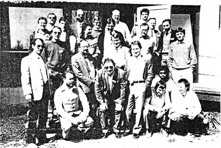 Cast (Computer Aided Systems Theory) Workshop 1988 Participants, IFSR Newsletter 1988 no. 2 (18)